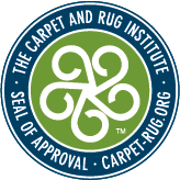 The carpet and rug institute seal of approval
